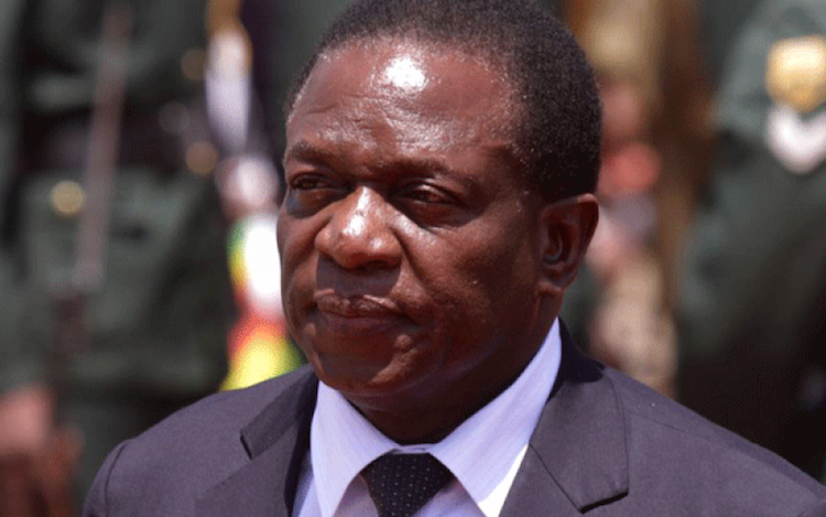 Photo: Emmerson Mnangagwa. Credit: NewsDay Zimbabwe