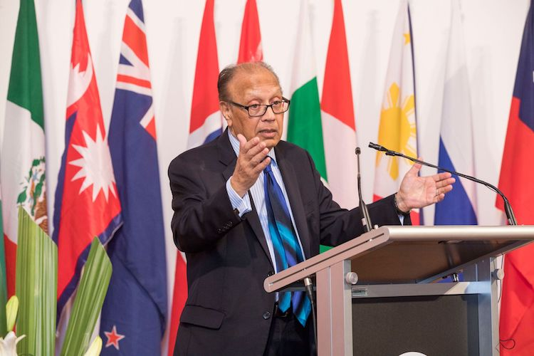 Photo: Ambassador Anwarul Chowdhury. Credit: International House, Sydney.